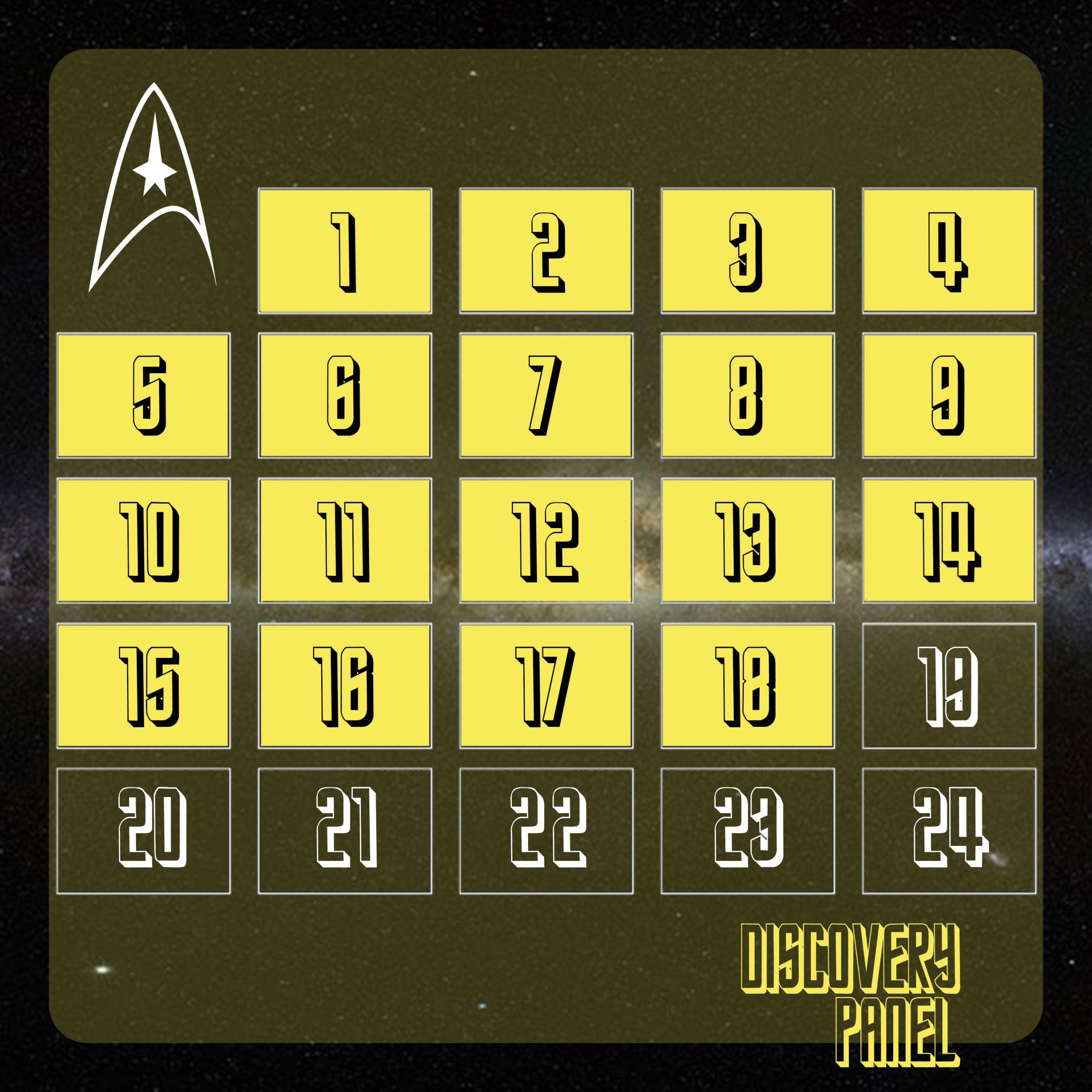 """Adventskalender: 18. Türchen – """"Traileranalyse Star Trek Discovery Staffel 2"""""""