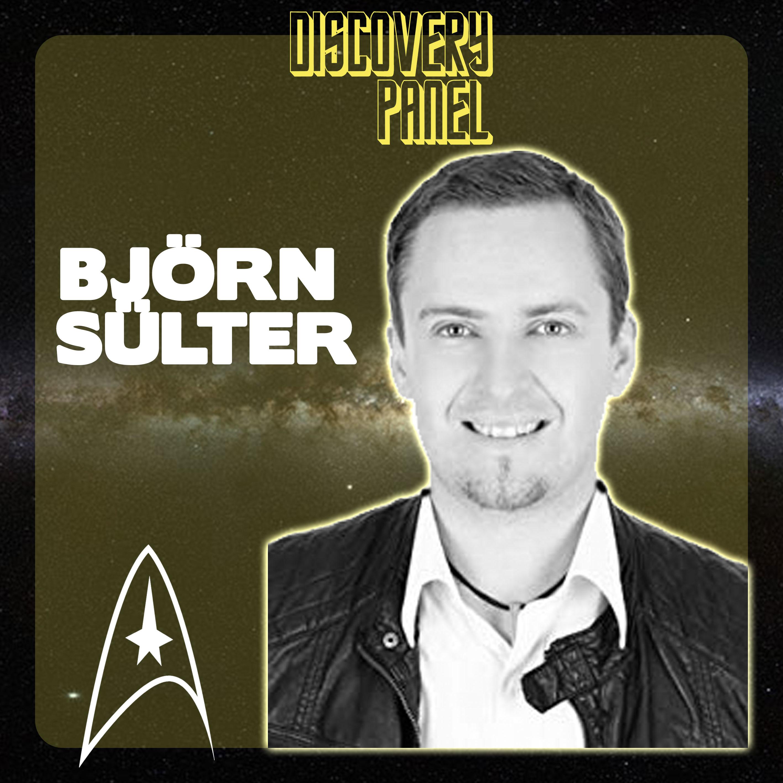 """Sonderfolge: Björn Sülter zu Gast auf dem Panel mit seinem Buch """"Es lebe Star Trek"""""""
