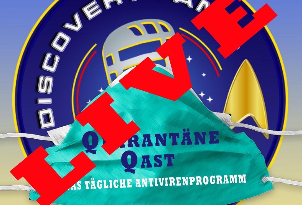 Quarantäne Qast #46: Sonntag Abend, LIVE ab 21 Uhr