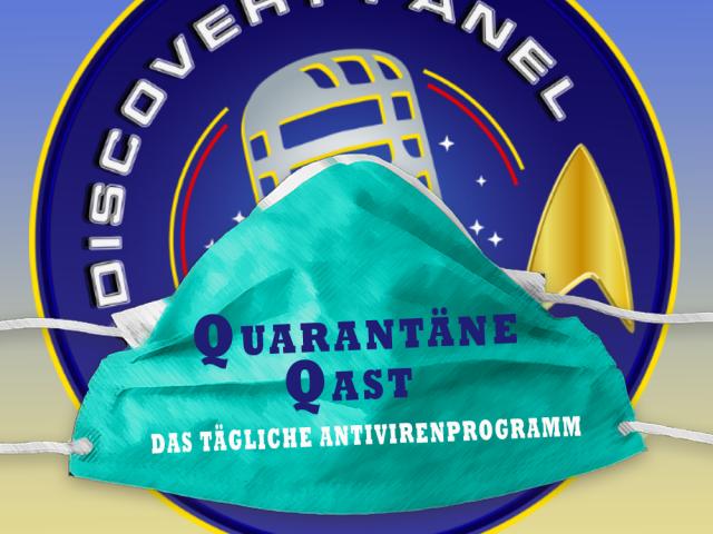 Quarantäne Qast #10: Bodypainting mit Chakotay