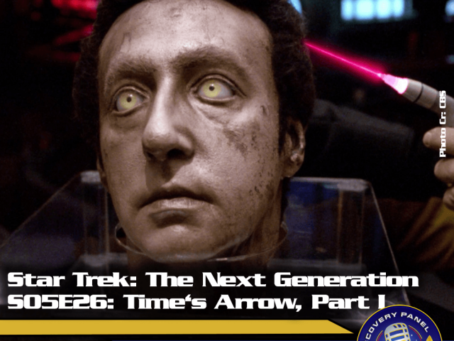"Lieblingsfolge: Star Trek The Next Generation – ""Time's Arrow, Part 1"" (S05/E26)"