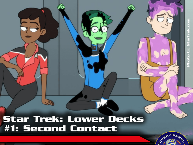 "Episodenbesprechung: Star Trek Lower Decks – ""Second Contact"" (S01E01)"
