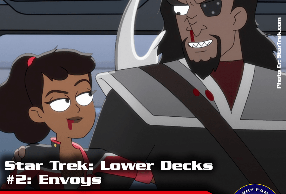 "Episodenbesprechung: Star Trek Lower Decks – ""Envoys"" (S01E02)"