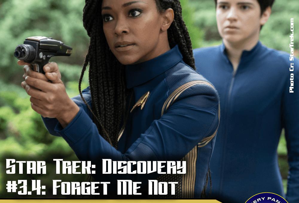 "Episodenbesprechung: Star Trek Discovery – ""Forget Me Not"" (S03E04)"