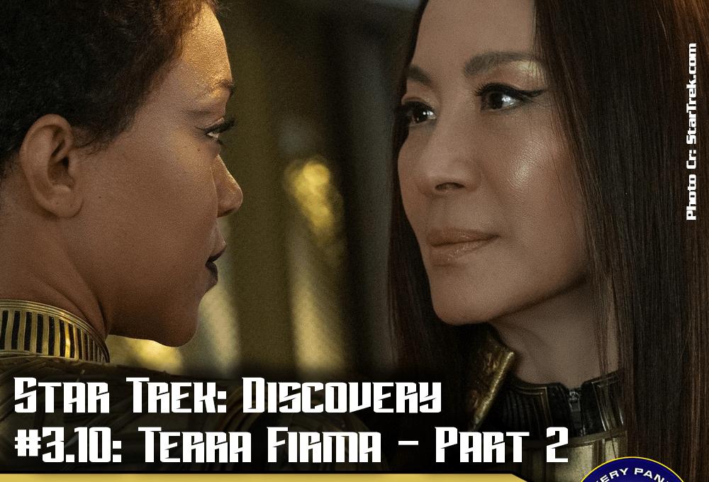 """Episodenbesprechung: Star Trek Discovery – """"Terra Firma – Part 2"""" (S03E10)"""