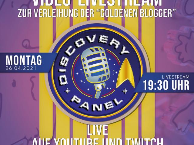 """Montag, 26.04., 19:30 Uhr: LIVE auf Youtube und Twitch: Verleihung der """"Goldenen Blogger"""""""