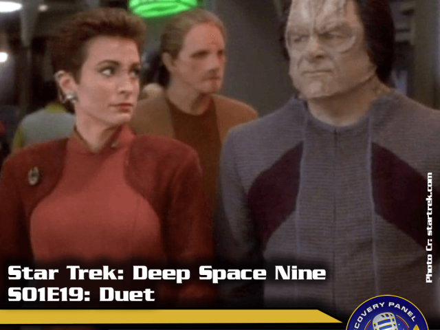 "Lieblingsfolge: Star Trek Deep Space Nine – ""Duet"" (S01/E19)"
