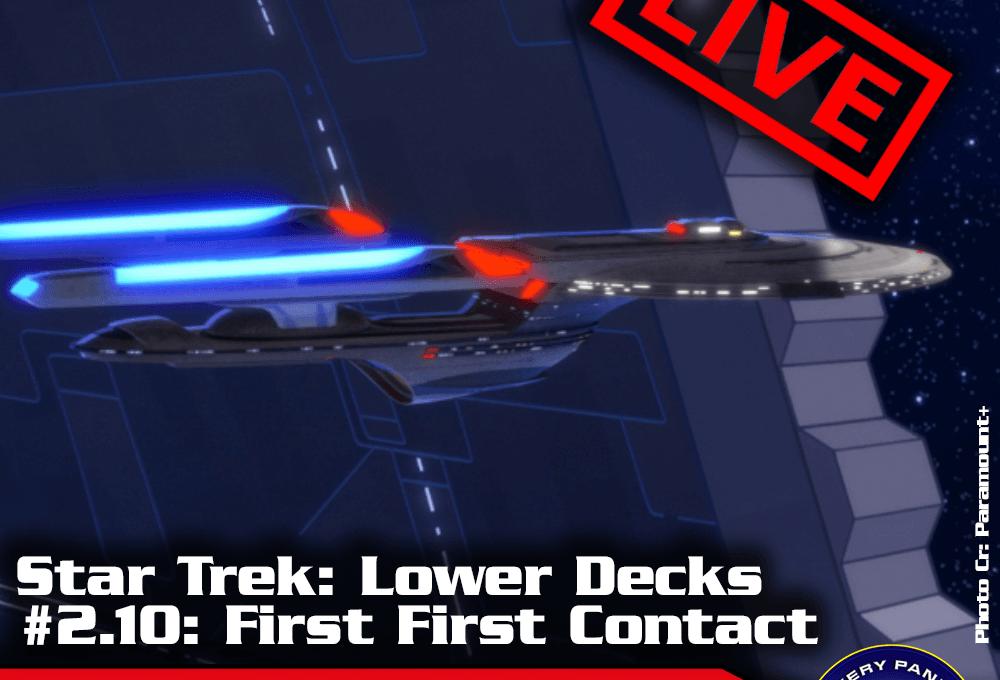 """Episodenbesprechung: Star Trek Lower Decks – """"First First Contact"""" (S02E10) – Live am Sonntag, 17.10., 21 Uhr"""